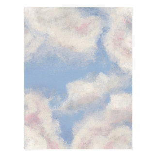 OPEN SKY! Add Personal Touches on My Painted Sky! Postcard
