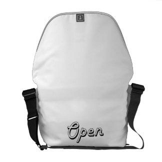 Open Source Classic Retro Design Commuter Bags