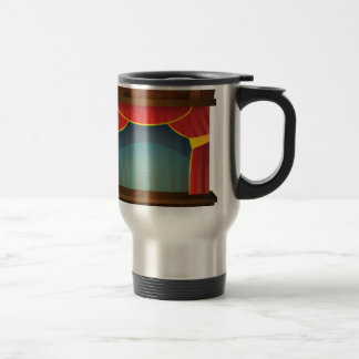 open stage red right travel mug
