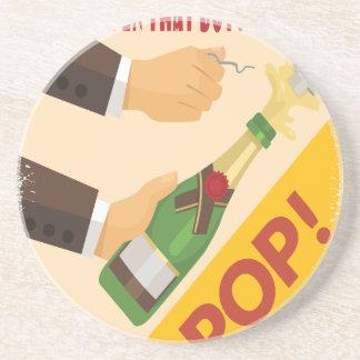 Open That Bottle Night - Appreciation Day Drink Coaster