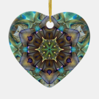 Open to Love Heart Ceramic Ornament