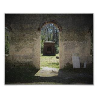Open Tomb Photo Print