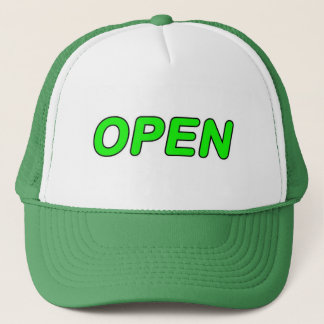 Open trucker-hat, for sale ! trucker hat