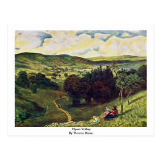 Open Valley By Thoma Hans Post Card