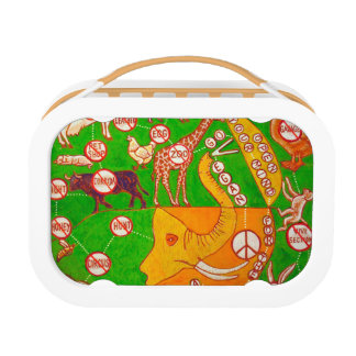 Open Vegan our mind Lunch Boxes
