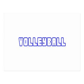 OPEN VOLLEYBALL POSTCARD