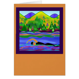 Open Water Solo card