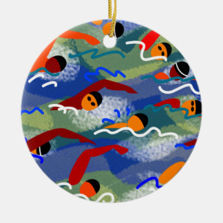 Open Water Swim Ornament
