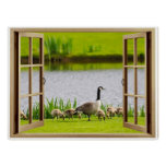 Open Window Mama Goose Posters