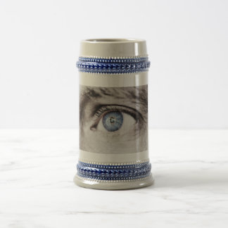 Open Your Eye stein Beer Steins