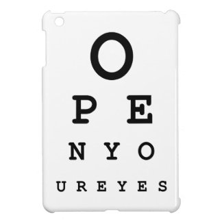 Open Your Eyes iPad Mini Covers
