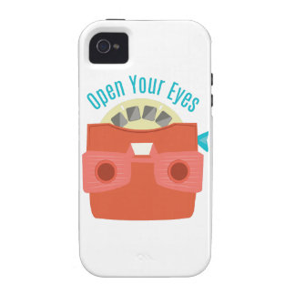 Open Your Eyes iPhone 4/4S Cases