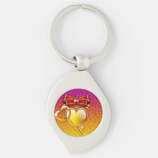 open your heart key chain