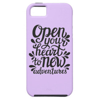 Open Your Heart To New Adventures iPhone 5 Covers