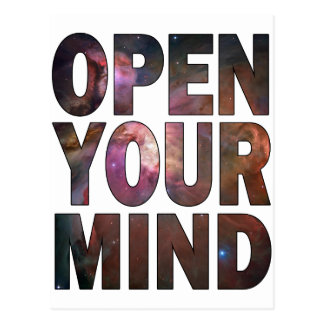 Open Your Mind Post Card