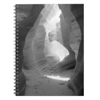 """Opening"" Antelope Canyon Spiral Notebook"