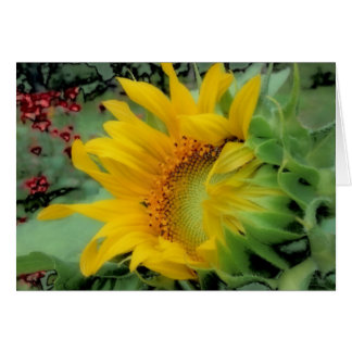 Opening Day - Sunflower Card