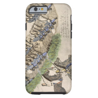 Opening of the Battle of the Little Big Horn (ink Tough iPhone 6 Case