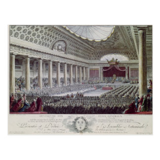 Opening of the Estates General at Versailles Postcard