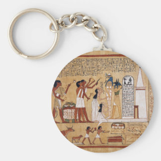 Opening of the Mouth Ceremony Book of the Dead Keychain