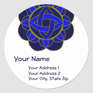 """Opening the 3rd Eye Chakra"" Address Label"