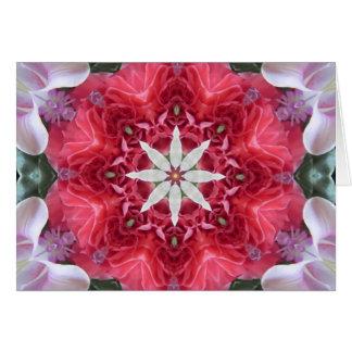Opening to Love Mandala Card