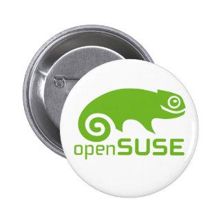 openSuzie Linux Logo 6 Cm Round Badge