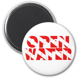 openwater copy 6 cm round magnet