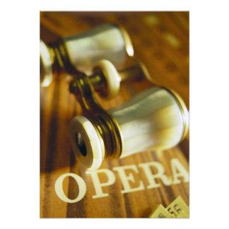 Opera Binoculars Personalized Invite