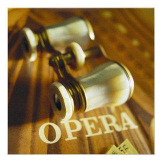 Opera Binoculars Invitation