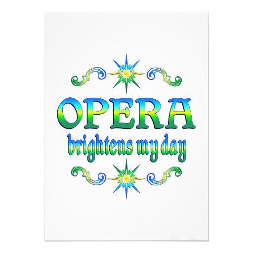 Opera Brightens Announcement