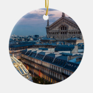 Opera garnier, Paris Ceramic Ornament