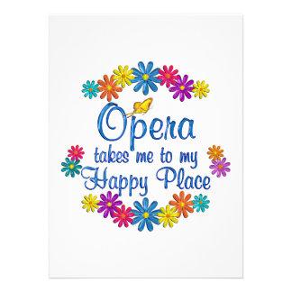 Opera Happy Place Custom Invites