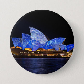 Opera House Sydney Australia 7.5 Cm Round Badge