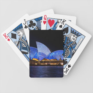 Opera House Sydney Australia Bicycle Playing Cards