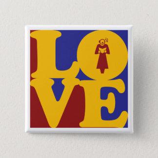 Opera Love 15 Cm Square Badge