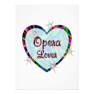 Opera Lover Personalized Invites