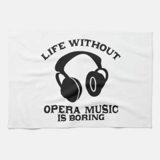 Opera Music designs Tea Towel