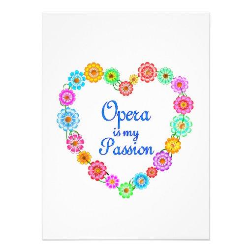 Opera Passion Custom Announcements