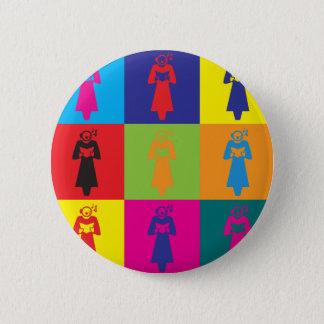 Opera Pop Art 6 Cm Round Badge