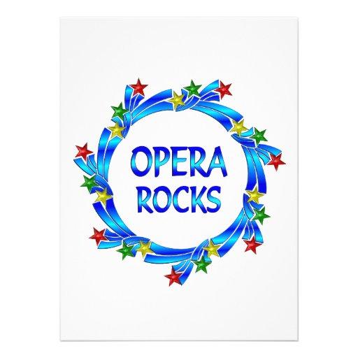 Opera Rocks Announcements