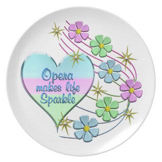 Opera Sparkles Plate