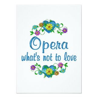 Opera to Love Invites