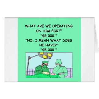 operate card