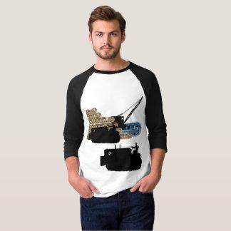 Operating Engineer Crane Operator Bulldozer Tracks T-Shirt