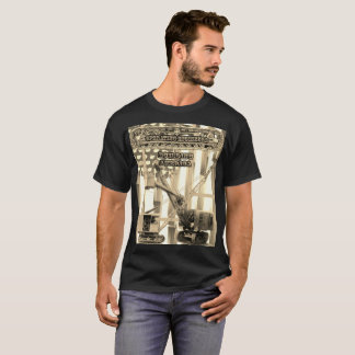 OPERATING ENGINEER CRANE OPERATOR SHOVEL VINTAGE T-Shirt