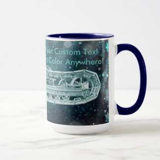 Operating Engineer Crane Operator Tracks Christmas Mug