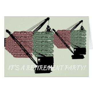 Operating Engineer Retirement Party Invitation
