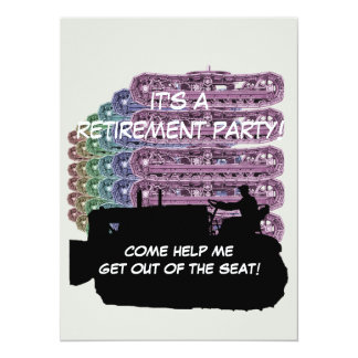 Operating Engineers Bulldozer Operator Retirement Card