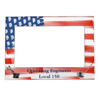 Operating Engineers  Flag Crane Operator Shovel Magnetic Frames